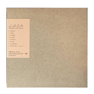 """画像3: Tamotsu LeftGroove(タモツ・レフトグルーブ)EP """"Life side(ライフ・サイド)"""" CD限定トラック入り"""