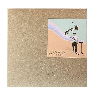 """画像2: Tamotsu LeftGroove(タモツ・レフトグルーブ)EP """"Life side(ライフ・サイド)"""" CD限定トラック入り"""