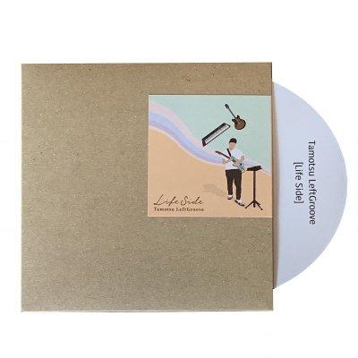 """画像1: Tamotsu LeftGroove(タモツ・レフトグルーブ)EP """"Life side(ライフ・サイド)"""" CD限定トラック入り"""