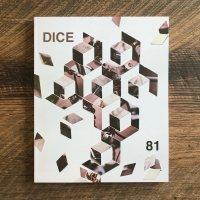 DicE MAGAZINE(ダイスマガジン)DicE Issue 81(ダイス・イシュー81)