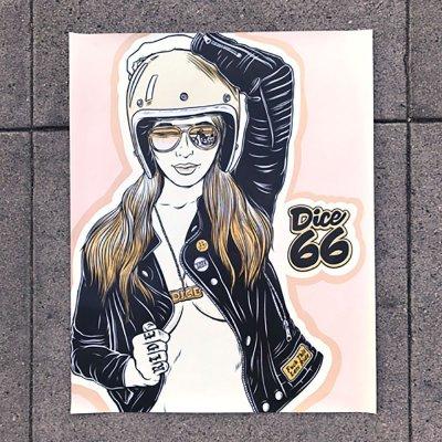 画像1: DicE MAGAZINE(ダイスマガジン)66 Poster(66・ポスター)