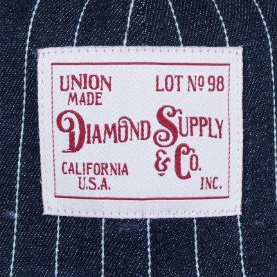 画像3: Diamond Supply&Co. (ダイヤモンド)ウッドランド・ストライプド・デニムバケット