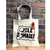 CYCLE ZOMBIES(サイクルゾンビーズ) CUFFS TOTO BAG(カフス・トートバッグ)
