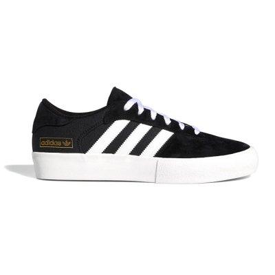 画像1: adidas Skateboarding(アディダススケートボーディング) MATCHBREAK SUPER BLACK/WHITE (SUEDE)