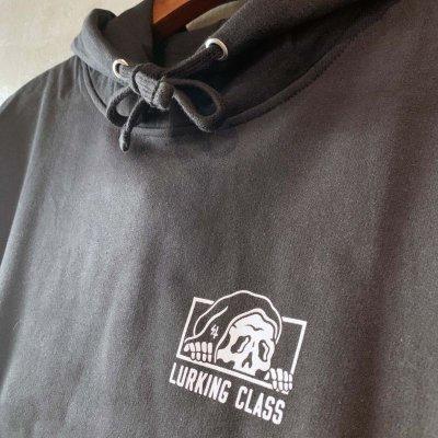 画像3: LURKING CLASS(ラーキングクラス) Rest In Piss 202BLACK L/S Parker (パーカー)