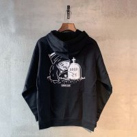 LURKING CLASS(ラーキングクラス) Rest In Piss 202BLACK L/S Parker (パーカー)