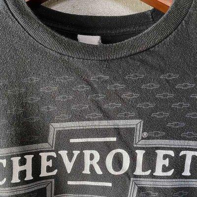 画像4: 【Vintage】CHEVROLET オフィシャル・ロゴTシャツ M相当
