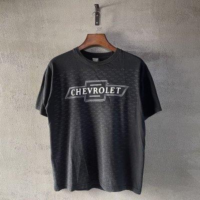 画像1: 【Vintage】CHEVROLET オフィシャル・ロゴTシャツ M相当